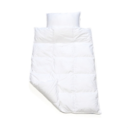 Down comforter and pillow junior