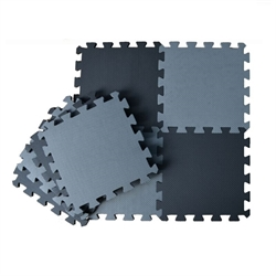 Floor puzzle Black/Grey