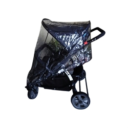 Rain cover for Trille Duo institution stroller