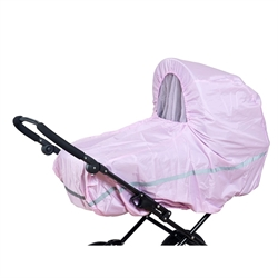 Raincover stroller Pink