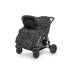 Rain Cover Buggy Black